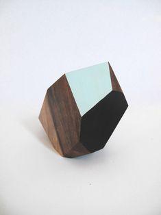 Wood Geos by Haley Ann