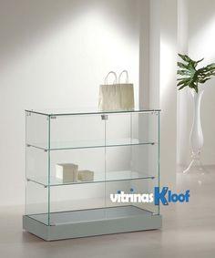 Vitrinas Kloof | Mostrador vitrina de 600 de fondo 20 AL