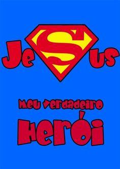 Recursos para Ministério Infantil: EBF - O maior super-herói do mundo (3 dias)