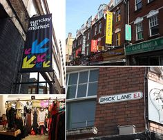 Also look up Spitalfields Market, the Sunday UpMarket and Backyard Market at the Old Truman Brewery on Brick Lane, and the Columbia Road area.