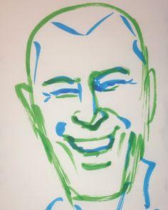 いいね!8件、コメント1件 ― @1mindrawのInstagramアカウント: 「#1mindraw #zinedinezidane #ジネディーヌジダン #19720623 #birthday #誕生日 #portrait #筆ペン画」