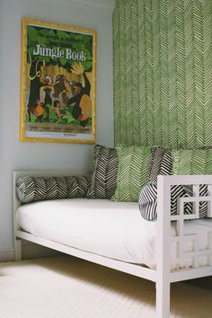 Bassett McKay's room features a jungle theme (Photography: Fred Castleberry)