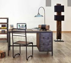 Bureau style industriel : Collection LOCKER