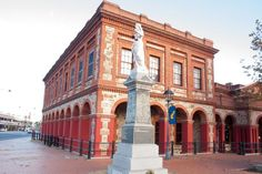 Port Adelaide's old police station, court house and customs house today. (Photo: ABC/Brett Williamson) #adelaide #architecture #tourism