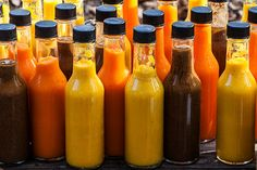 Yucatán Hot Sauce 15 habanero peppers, stems removed 1 cup lime juice 1/2 cup orange juice 3 medium carrots, chopped 6 garlic cloves, boiled until soft 1 teaspoon sea salt Add all the ingredients to a blender and blend until completely smooth.