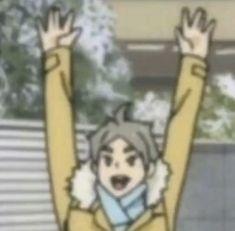 Sugawara Haikyuu, Haikyuu Funny, Anime Manga, Anime Guys, Anime Expressions, Volleyball Anime, Funny Anime Pics, A Silent Voice, Anime Stickers