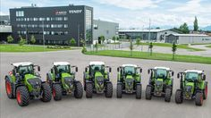 The Fendt Tractor Family