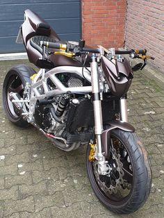 Custom Street Bikes, Custom Bikes, Street Fighter Motorcycle, Chopper, Motorbikes, Cafe Racers, Cool Stuff, Vehicles, Motorcycles