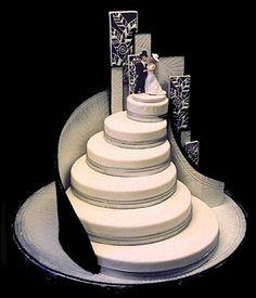 http://www.pinterest.com/vernettakiser/wedding/  a wedding cake