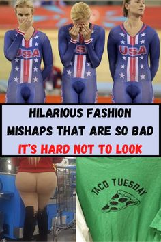 Hilarious fashion mishaps that are so bad it's hard not to look Awkward Funny, Hilarious, Wtf Funny, Fashion Fail, Kids Fashion, Woman Fashion, Laughing Therapy, Pregnancy Problems, Crochet Lace Edging