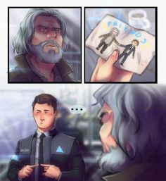 Detroit become human Hank and Connor