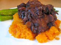 Braised Oxtail with Sweet Potato Mash | Andrea Beaman • Thyroid Expert • Holistic Health & Organic Diet Expert