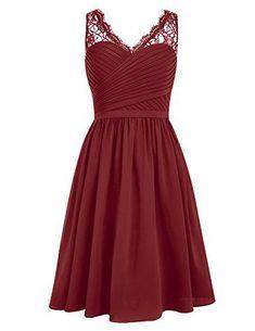 Dresstells® V Neck Chiffon Prom Dress with Lace Bride... https://www.amazon.co.uk/dp/B0198EL7P0/ref=cm_sw_r_pi_dp_RS0BxbRZG2TH1