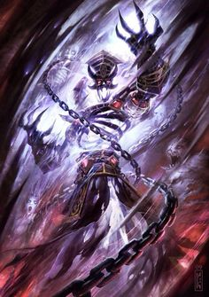 View an image titled 'Kel'Thuzad Art' in our Hearthstone: Heroes of Warcraft art gallery featuring official character designs, concept art, and promo pictures. Dark Fantasy Art, Foto Fantasy, Fantasy Artwork, Fantasy World, Final Fantasy, Warcraft Art, World Of Warcraft, Fantasy Monster, Monster Art