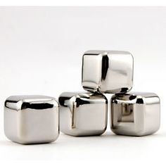 Cool your drink without watering it down!  Stainless Steel Ice Cubes with Tray  $24.95