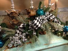 Beautiful Christmas Decorations for your fireplace by Benny Jackson Designs in Lubbock