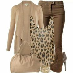 Beige outfits for work