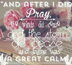 Pray is so powerful