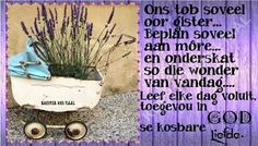 Ons tob soveel oor gister...