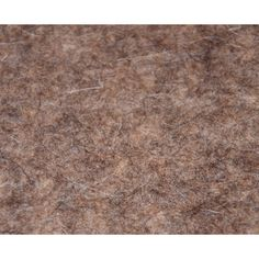 Wollfilz, graubraun-meliert, 10 mm dick - im Zuschnitt