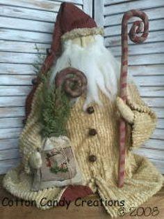 Old World Primitive Santa