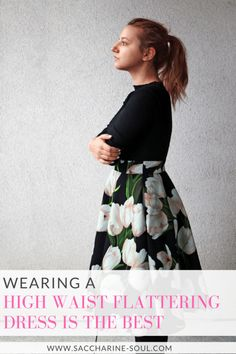 Are you into easy outfits for lazy mornings? Check out why wearing a flattering high waist dress is the best for your figure!