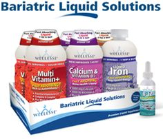 Wellesse Bariatric Starter Pack has everything you need for before and after weight loss surgery.