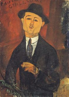 Amedeo Modigliani - Paul Guillaume,