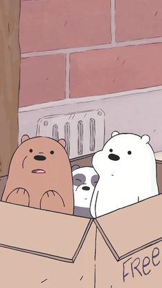 *We Bare Bears *적용화면 – Anime Wallpaper Wallpaper Free, Bear Wallpaper, Cute Disney Wallpaper, Kawaii Wallpaper, Cute Wallpaper Backgrounds, Cute Cartoon Wallpapers, Wallpaper Iphone Cute, Aesthetic Iphone Wallpaper, Animal Wallpaper