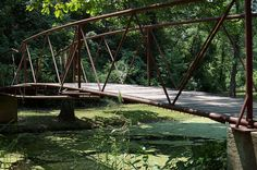 Natural Falls State Park at West Siloam Springs - by James Breedlove Natural Falls, Siloam Springs, Eureka Springs, Autumn Nature, Long Weekend, Garden Bridge, Arkansas, Bridges, Oklahoma