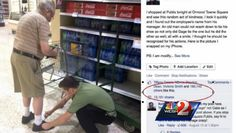 Yes, Supermarket employees can be heroes, too! Publix supermarket employee's act of kindness goes viral.