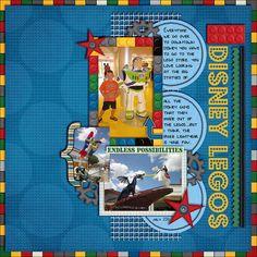 Disney Legos - Scrapbook.com