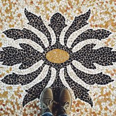 #Spilimbergo city hall #mosaics #mosaico #mozaika #lookingdown #fromwhereistand #floorsthatilove #tilephile #tileaddiction #municipio #IHaveAThingWithFloors #ihavethisthingwithfloors #IHaveThisThingWithTiles #terrazzo #marble #vscocam by a_kwiat