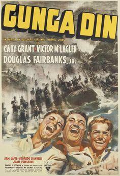 Cary Grant Gunga Din, 1939