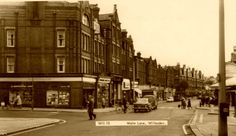 Old Postcard - Walm Lane Willesden
