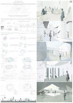 Grand Prize, 2015 Korea Architecture Culture Awards-Grand Prize (Minister of Land, Transport and Maritime Affairs) - Architecture Panel, Architecture Graphics, Architecture Drawings, Architecture Design, Presentation Board Design, Architecture Presentation Board, Design Azul, Design Competitions, Layout Design