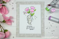 Bunny with flower bouquet #SSSFAVE Some Bunny Special and Artsy Flower Parts