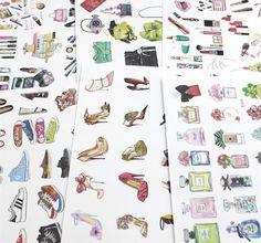 The Fashionista Sticker Set – The White Pad