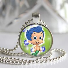 Hey, I found this really awesome Etsy listing at https://www.etsy.com/listing/162339823/bubble-guppies-pendant-necklace-birthday