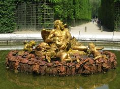 4 Seasons fountains in Versailles gardens