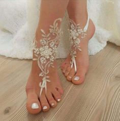 "My latest find on Trusper may blow you away: ""Beautiful Barefoot Sandels For A…"