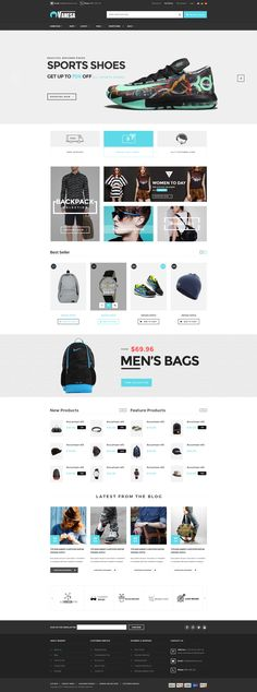 Professional eCommerce Website Themes
