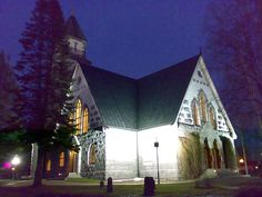 Hirvensalmi Church, Hirvensalmi. Finland.