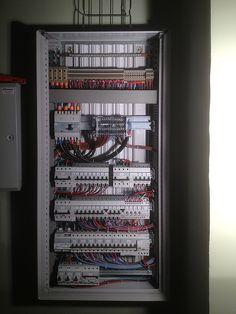 Cmt creea jeux de barres de puissance pliage de barre de cuivre tableautier legrand - Tableau repartition electrique maison ...
