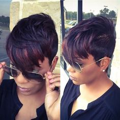 Cheap Heat Resistant Synthetic Short Wigs for Black Women Short Pixie Cuts Wigs African Women Female Wig Natural Looking Wigs
