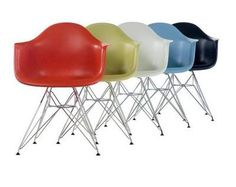 Molded Plastic Chairs - Charles and Ray Eames