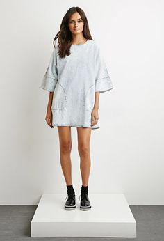 The Fifth Label Bright Time T-Shirt Dress | Forever 21 - 2000171970