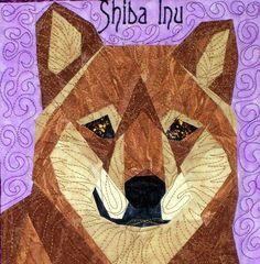 silver linings canine corner shiba inu $7.95 pattern