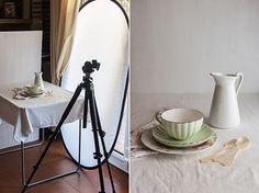 Esquema para fotos culinarias por Maria Lunarillos