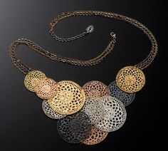 Etched Metal Lace Jewelry by Inbar Shahak - The Beading Gem's Journal